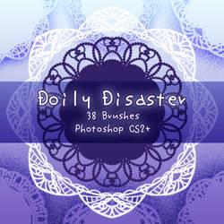 Doily Disaster Brushes