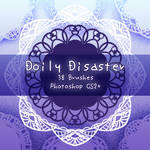 Doily Disaster Brushes