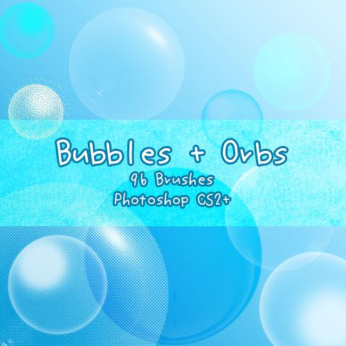 Bubbles + Orbs by kabocha