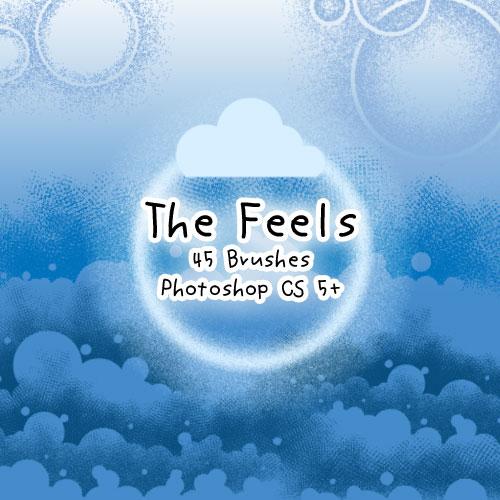 The Feels - Brushes by kabocha
