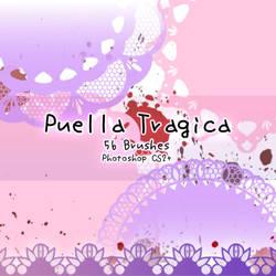 Puella Tragica Brushes by kabocha