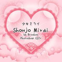 Shoujo Mirai Brushes by kabocha
