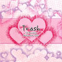 Trash Brushes by kabocha