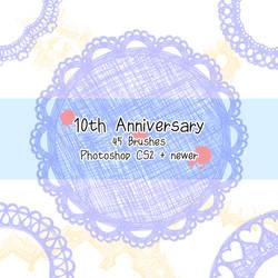 10th Anniversary Brushes