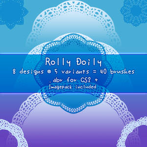 Rolly Doily - PS Brushes