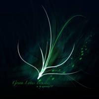 Green Lotus Brushes - PS7 by kabocha