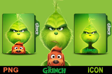 The Grinch (2018)  Folder icon Part 1 by srzizo