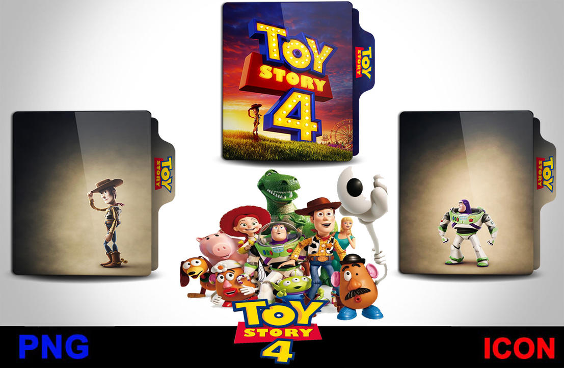 Toy Story 4 2019 Folder Icon By Srzizo On Deviantart