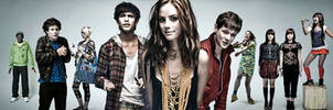 Skins Group Wallpaper by jeayese