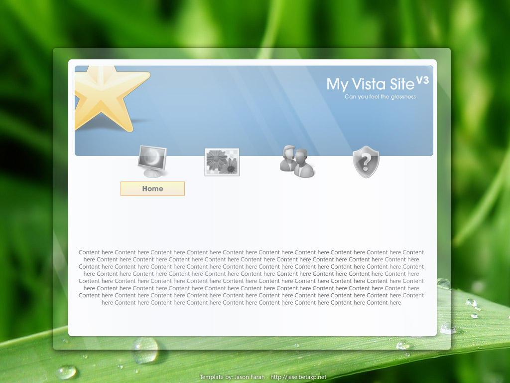 My vista site V3 by jeayese