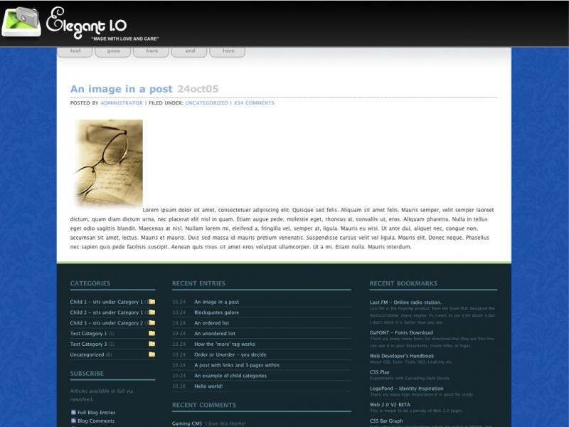 Elegant 1.0 Beta by jeayese