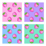 Strawberry Pattern - Stock