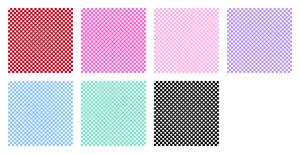 Polka Dot Pattern - Stock