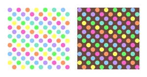 Polkadot Rainbow Pattern-Stock