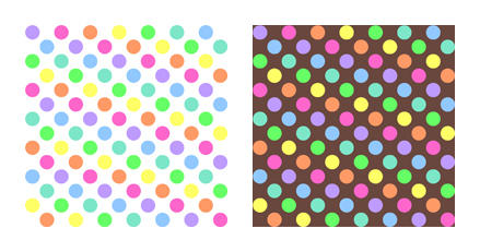 Polkadot Rainbow Pattern-Stock by Mezzochan