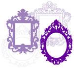 Rococo Frames - Stock