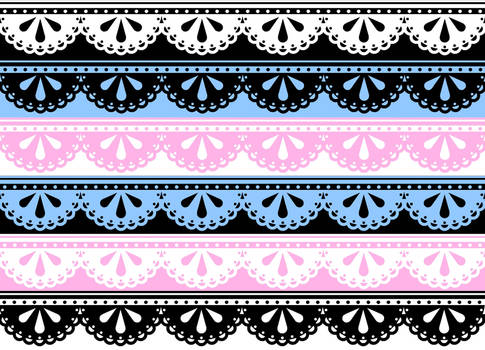 Lace Borders - Stock