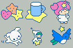 Little Twinstars Icons by Mezzochan
