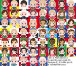 [DL] Free Hetalia icons~! by megumar