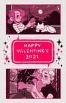 Valentines 2021 by bluwish
