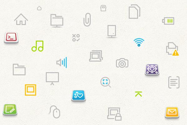 Simple-Moblin Icon Theme