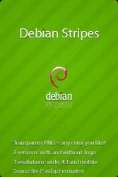Debian Stripes by hadret