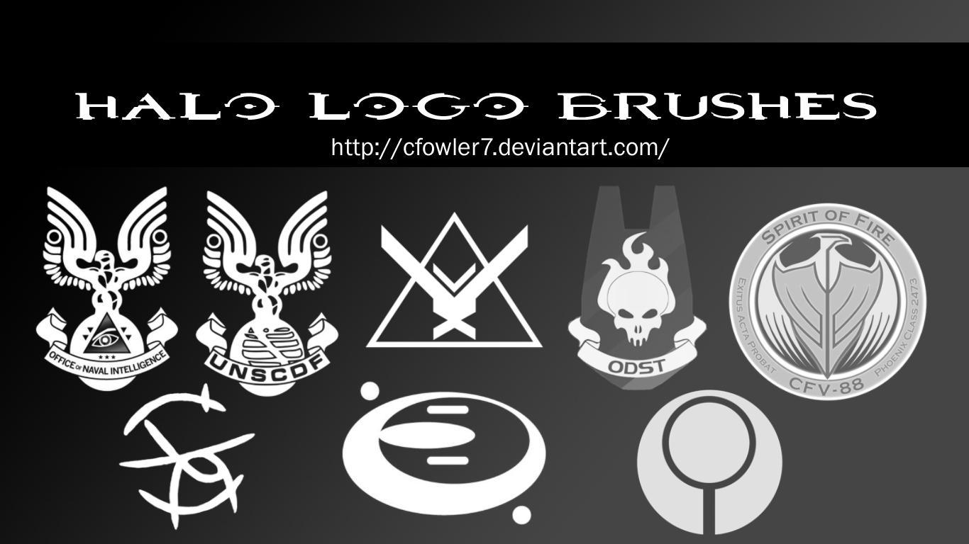 Brushes Halo Logo Brushes By Cfowler7 Sfm On Deviantart