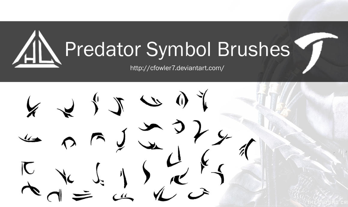 Brushes - Predator Symbol Brushes by cfowler7 on DeviantArt