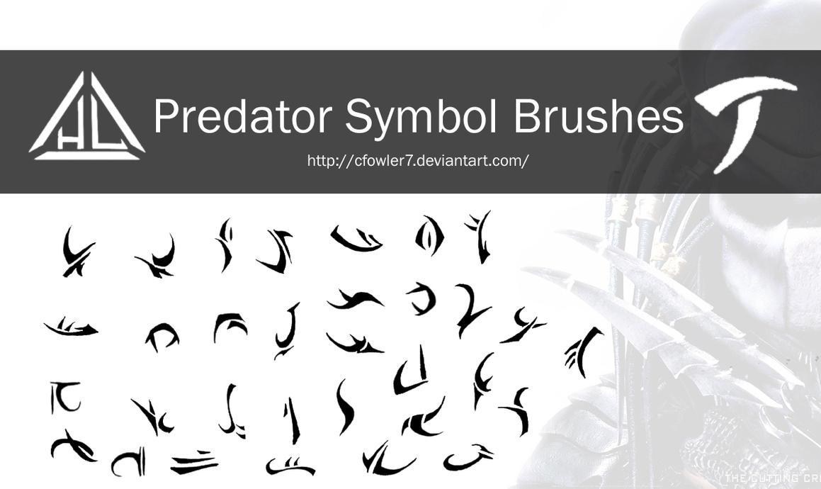 Brushes - Predator Symbol Brushes by cfowler7 on DeviantArt