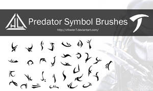 Brushes - Predator Symbol Brushes