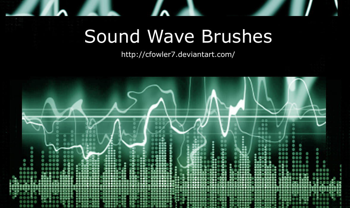 PS Brushes - Sound Waves by cfowler7