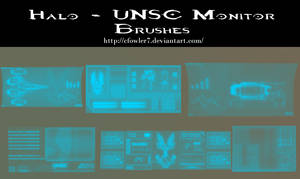 PS Brushes - UNSC Montiors