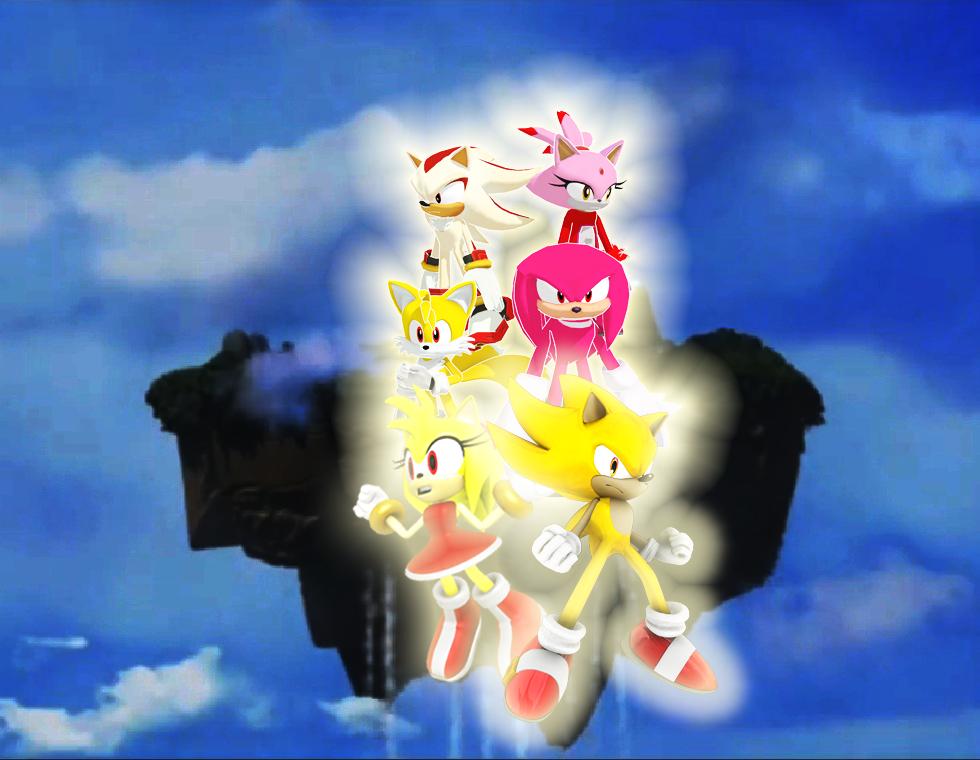 Sonic Super Forms By Pawnkracker On Deviantart