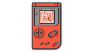 Gameboy PNG Template by Bino