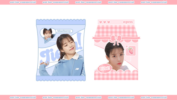 milk box and candy icon frame by bibiane.