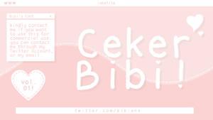 Ceker Bibi (font) by Bibiane.