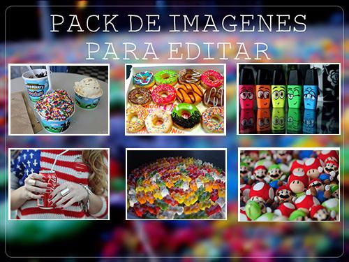 Pack de imagenes para editar '~' by LiveInTheColors