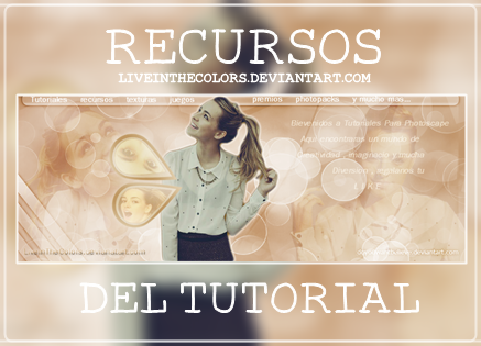 +Recursos by LiveInTheColors