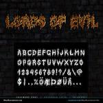 MB Lords of Evil | Black Metal Font