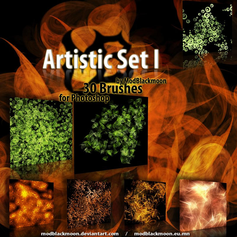 MB-ArtisticSet-I by modblackmoon