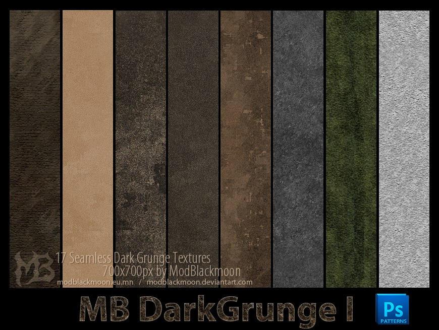 MB-DarkGrunge-I by modblackmoon