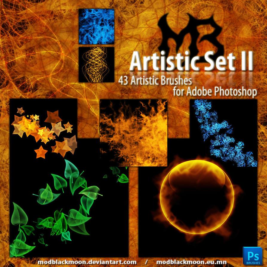 MB-ArtisticSet-II by modblackmoon