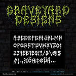 MB Graveyard Designs | Death Metal Font
