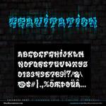 MB Gravitation | Graffiti Font
