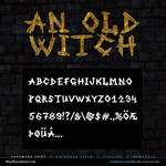 MB An Old Witch | Scratched Font