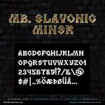 MB Slavonic Minsk | Pagan Font