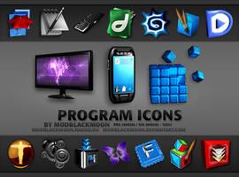 MB Program Icons I by modblackmoon
