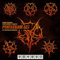 MB-PentagramSet by modblackmoon