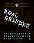 MB Real Grinder | Death Metal Font