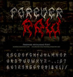 MB Forever Raw | Death Metal Font